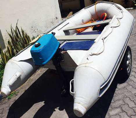 **EXCEL VANGUARD XHD335 INFLATABLE BOAT FOR SALE** image 3