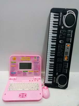 Kid laptop and piano ( package) image 1
