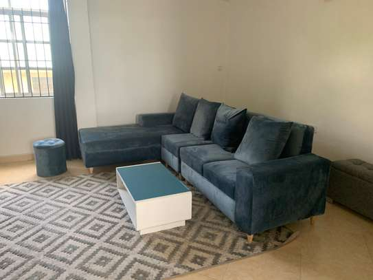 L couch + Stool