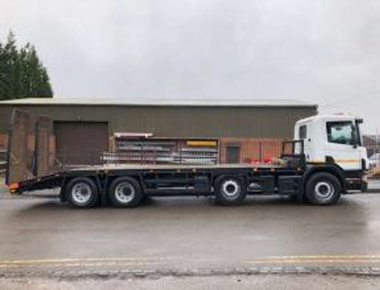 2000 Scania 114 340 8X2 FLATBED  TSHS92MILLION ON THE ROAD image 9