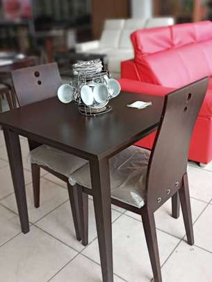 Mini dinning table and chair on clearance sale image 1