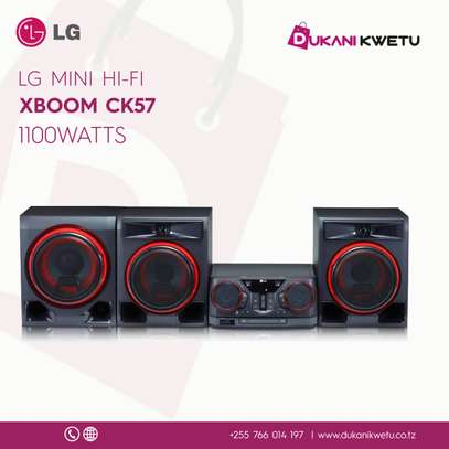 LG XBOOM CK57 MINI HIFI 1100WATTS image 1