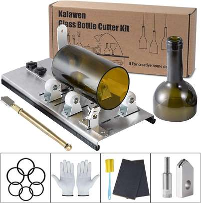 Kalawen Adjustable Glass Bottle Cutter Kit DIY Tool