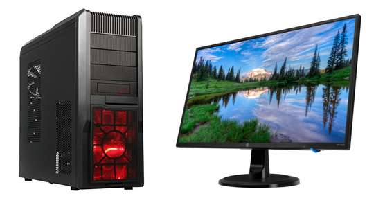 ROSEWILL - ROSEWILL GAMING ATX TOWER CASE, BLACK R5