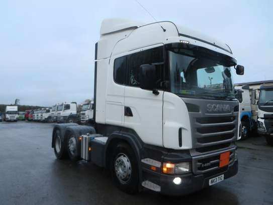 2013 Scania R480 6X2 TRACTOR