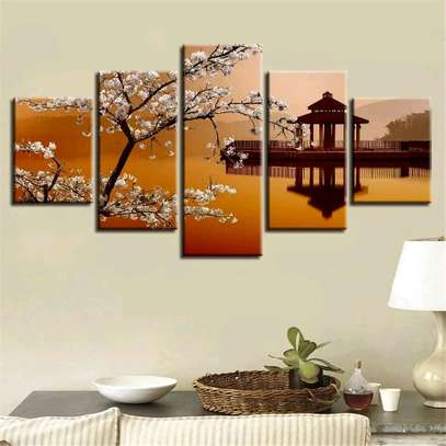 Modern wall canvas painting