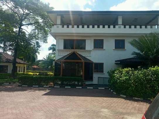 a stand alone mansion is for rent at mbezi beach near mediteranian hotel street very cool neighbour hood