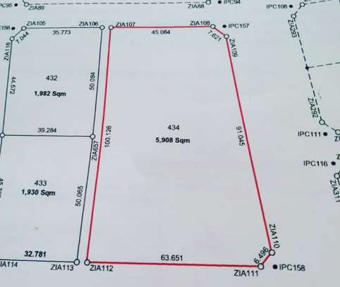 BUY CHALINZE AREA PLOT APPROVED FOR PETROL STATION ESTABLISHMENT image 1