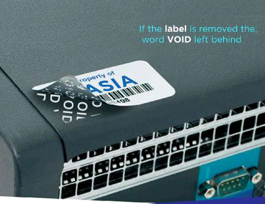 TAGS & BARCODE LABELS & QR CODES & STICKERS & ASSET CODING