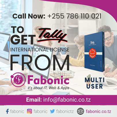 Tally Software  | Get Tally International License Single Multi from Fabonic image 1