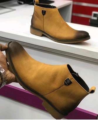 Grade 1 leather shoes.