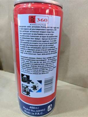 Air Duster pressurized Gas Container 450ML image 4