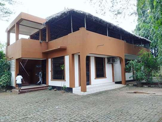 Stand alone house with large terrace For rent AT MSASANI image 1
