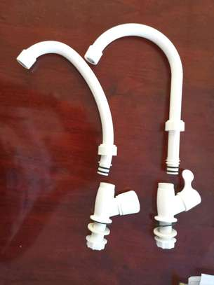 high quality PVC faucet ,two use in one