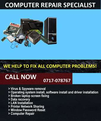 COMPUTER MAINTENANCE & REPAIR SERVICE