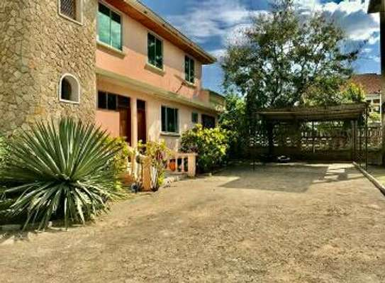 a stand alone house is for rent at mbezi beach near road to whitesands image 1