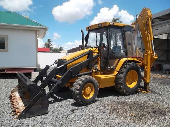 1998 Caterpillar Backhoe Loader CAT 438C image 1
