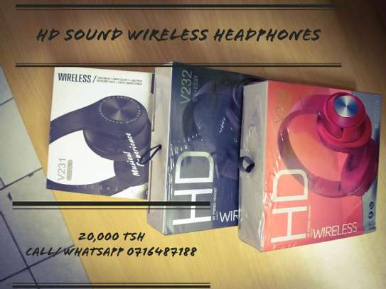 HD sound wireless bluetooth HEADPHONES free Delivery dsm