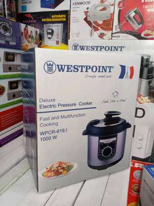 WESTPOINT DELUXE MANUAL ELECTRIC PRESSURE COOKER - 6L..210,000/= image 1