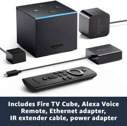 Fire TV Cube, hands-free with Alexa built in, 4K. image 1