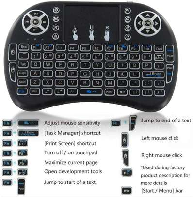 Wireless Mini Keyboard with Touch Pad