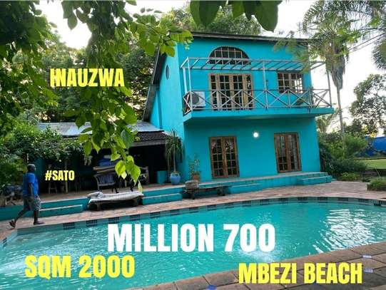 MBEZI BEACH.....a BEACH HOUSE IS FOR SALE image 1