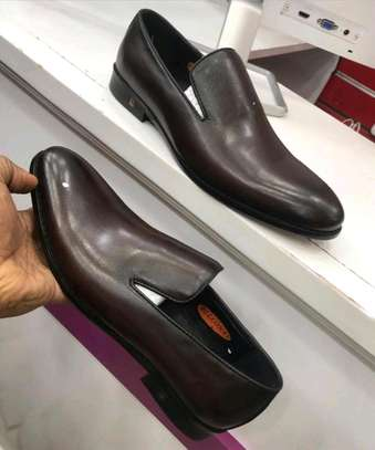 Office leather shoes.