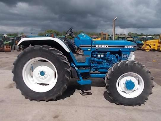 1992 Ford 6610 4WD FARM TRACTOR image 4