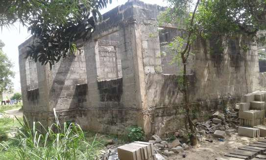 Semi finish house for sale at Goba image 1