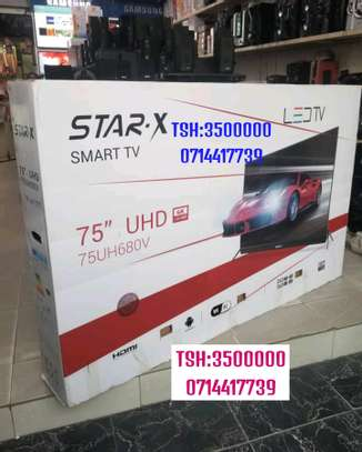 STAR X UHD 4K ANDROID TV INCH 75 INCLUDED SOUND BAR FULL image 2