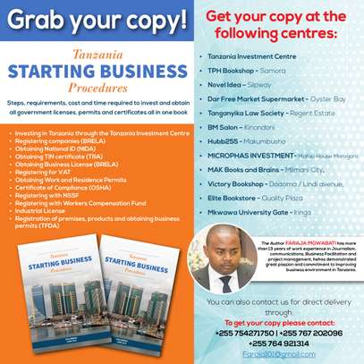 Tanzania Starting Business Procedures Book