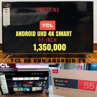 "TCL 55"" SMART UHD TV image 1"
