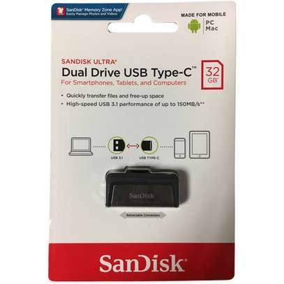 Sandisk 32GB  FLASH USB TO TYPE-C