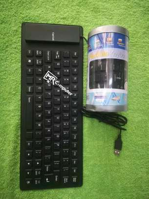 flexible and wired keyboard image 1