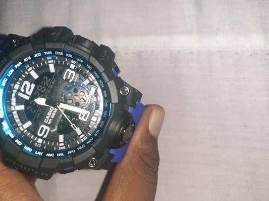 Gshock MuD Master colour blue
