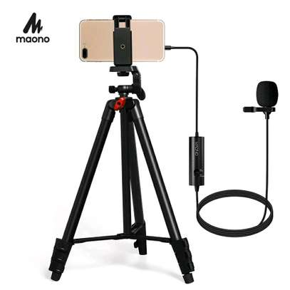 MAONO Lapel microphone Mobile Microphone kit image 1