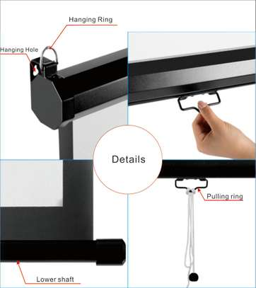 Manual Projector Screen - 150 Inches image 11