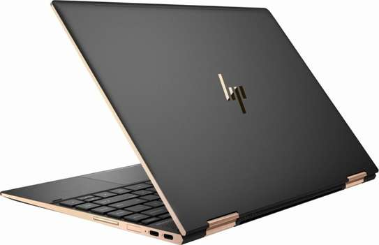 HP Spectre 13 x360 Gold and Black i7-8thGeneration 4K image 3