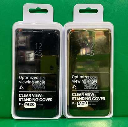 Flip led covers for Galaxy M20