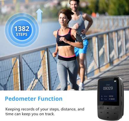 Victure Bluetooth MP3 Player 16GB Clip Sport Portable Lossless Sound Hi-Fi Music Player With Headphone FM Radio Voice Recorder, Support up 128GB image 2