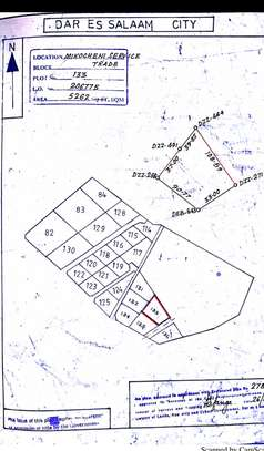 mikocheni industrial plot 5262 sqm for sale $600,000 is open yard image 2