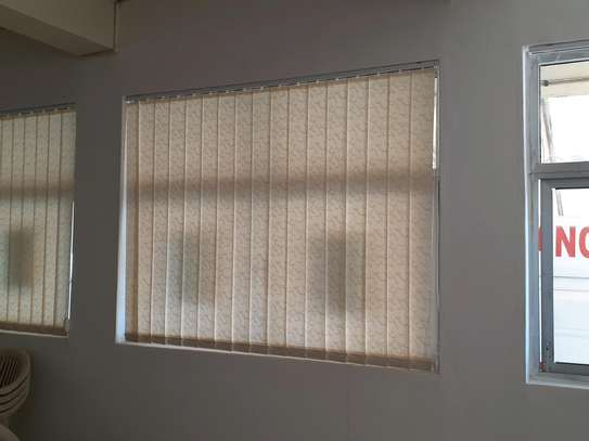 CURTAIN BLINDS- Cream Colour Vertical blinds image 3
