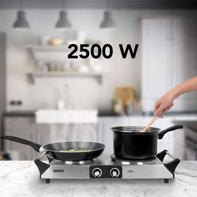 SPRING DEAL: Duronic Hot Plate HP2SS   Table-Top Cooking   2500W   Stainless-Steel Electric Single Hob with Handles image 9