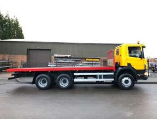 1998 Scania P94 260 6X4 FLATBED THS 91MILLION ON THE ROAD image 10