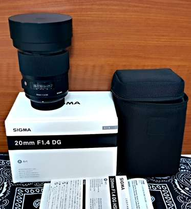 Sigma 20mm f/1.4 DG HSM Art Lens for Nikon F / Sigma 24-105mm f/4 DG OS HSM Art Lens for Nikon F