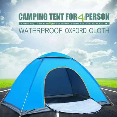 Outdoor Camping Tent For 4 People (200cm×200cm)