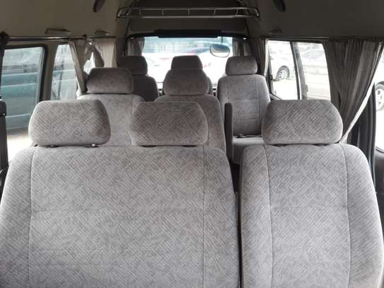 1996 Toyota HIACE DIESEL AUTO USD 6500 UP TO DAR PORT TSHS 24MILLION ON THE ROAD image 6
