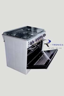 90x60 DELTA free standing cooker (4 GAS+ 2 ELECTRIC) image 3
