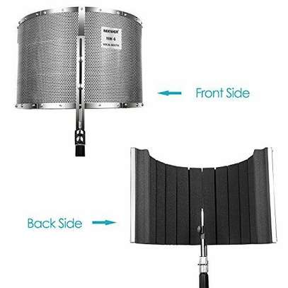 STUDIO EQUIPMENTS (Neewer Microphone Isolation Shield Absorber Filter Vocal Isolation Booth) image 2