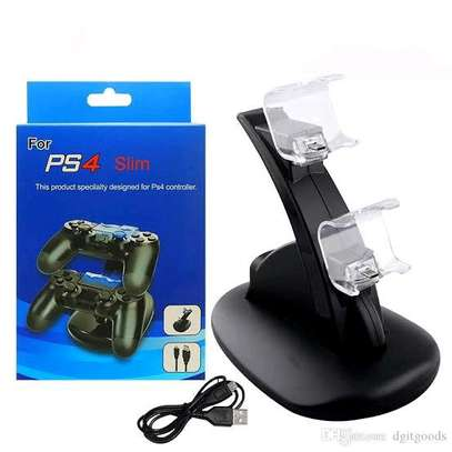 DUAL USB CHARGING STAND FOR PS PS4 CONTROLLER image 2